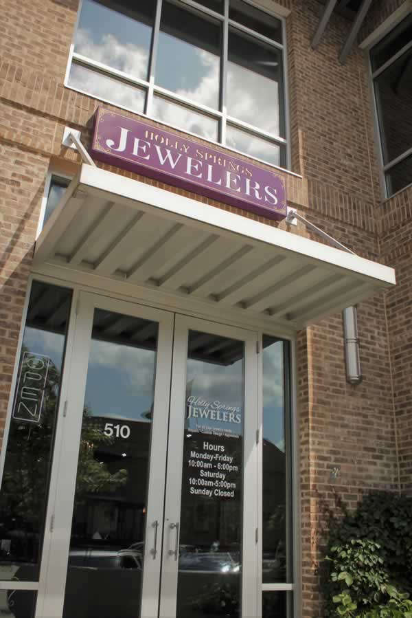 Holly Springs Jewelers Store Entrance