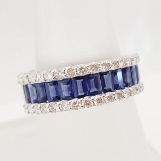 Sapphire and Diamond Cigar Band