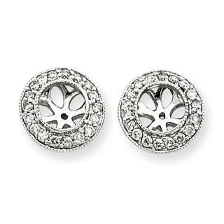 25 ct. Diamond Earring Jackets