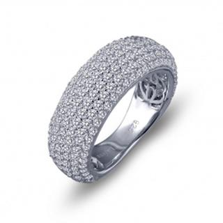 Lafonn Simulated Diamond Pave Domed Band
