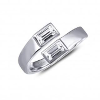 Lafonn Simulated Diamond Bypass Ring