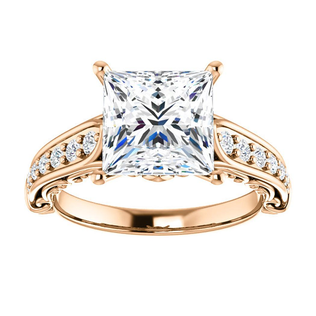 stone products petite accented condition engagement chip ctw baguette small sz centre on dsc very good rings ring