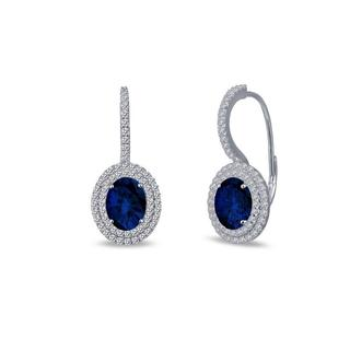 Lafonn Double Halo Earrings