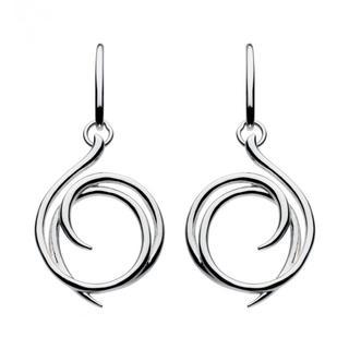 Sterling Silver Regents Helix Wrap Earrings